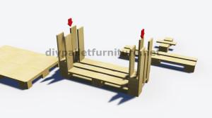 Istruzioni passo passo su come fare un tavolo con 3 pallet 6