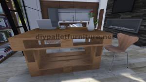 Istruzioni passo passo su come fare un tavolo con 3 pallet 9