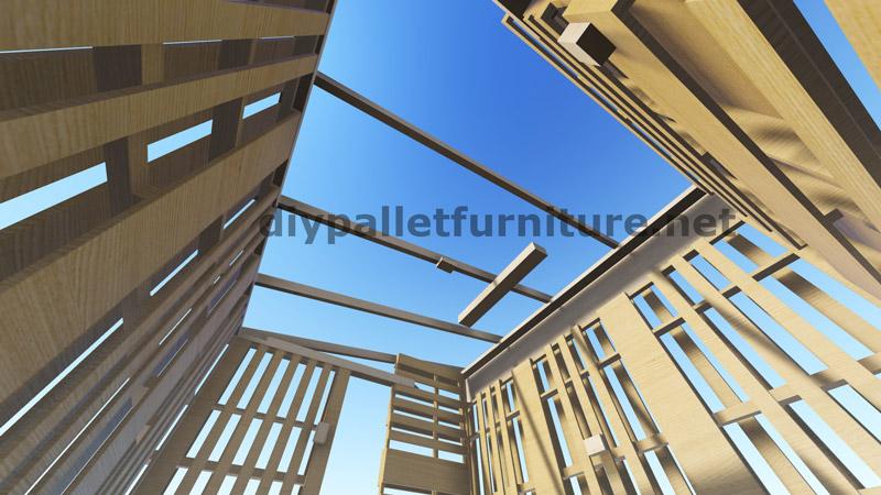 Piani 3d per la costruzione di una cabina o un negozio con for Piani economici della cabina di ceppo