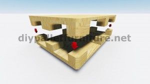 Tavoli galleggiante con i pallet 7