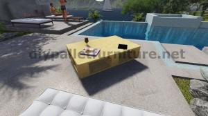 Tavoli galleggiante con i pallet 9