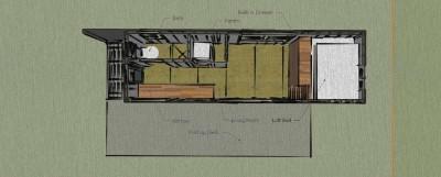 Casa costruita con assi di pallet di legno a meno di € 10.000 ( $ 12.000 ) 6