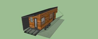 Casa costruita con assi di pallet di legno a meno di € 10.000 ( $ 12.000 ) 7