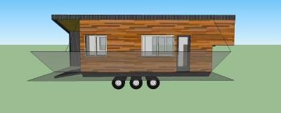 Casa costruita con assi di pallet di legno a meno di € 10.000 ( $ 12.000 ) 8