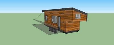 Casa costruita con assi di pallet di legno a meno di € 10.000 ( $ 12.000 ) 9