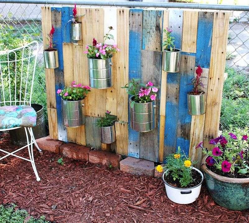 Beautiful Vertical Garden Ideas: Come Fare Un Bel Giardino Con I PalletMobili Con Pallet