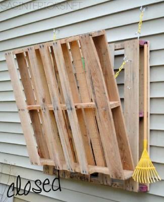 Come fare un tavolo pieghevole per il giardino  2