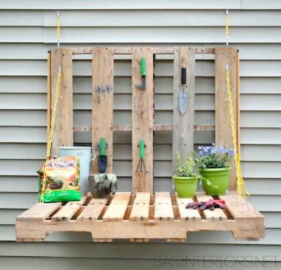 Come fare un tavolo pieghevole per il giardino