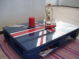 Diverse idee originali per fare un tavolo con un singolo pallet-4
