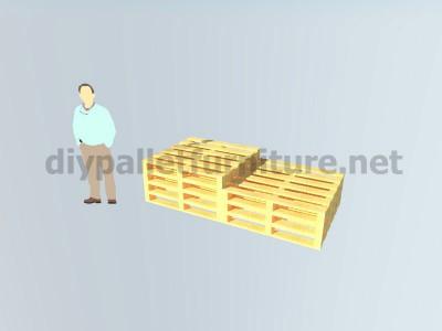 I piani e le istruzioni su come fare una scrivania con pallet 2