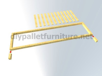 I piani e le istruzioni su come fare una scrivania con pallet 4-