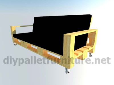 Mobili da giardino kit divano esterno con pallet 10