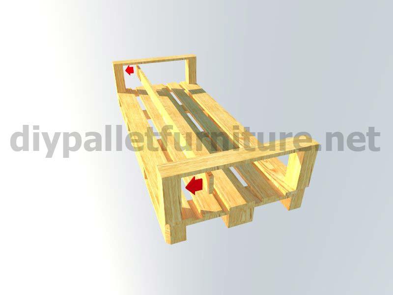 Kit mobili da giardino: divano esterno con palletMobili ...