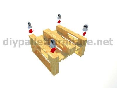 Mobili da giardino kit esterni Poltrona con pallet 11
