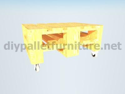 Mobili da giardino kit un tavolo con un solo Europalet 5