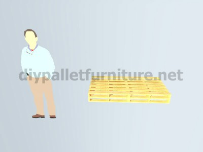 Piani e istruzioni per fare una poltrona con 4 pallet 2