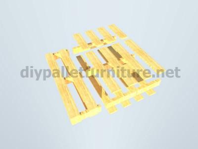 Piani e istruzioni per fare una poltrona con 4 pallet 7