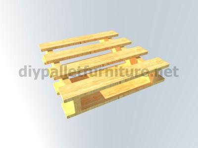 Piani e istruzioni per fare una poltrona con 4 pallet 9