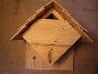 Casetta per gli uccelli