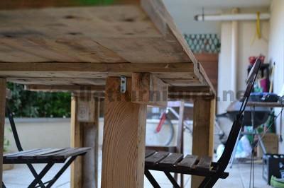 Come fare facilmente un tavolo con un Europallet 2