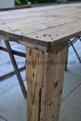 Come fare facilmente un tavolo con un Europallet 4