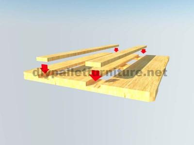 Come fare facilmente un tavolo con un Europallet 8