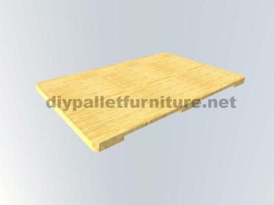 Come fare facilmente un tavolo con un Europallet 9