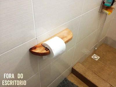 Come fare un porta carta igienica con i pallet  3