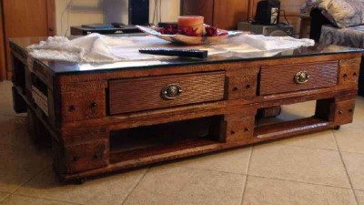 Come fare un tavolo da caffè vintageMobili con Pallet | Mobili con ...