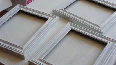 Come fare una cornice con paletti 6