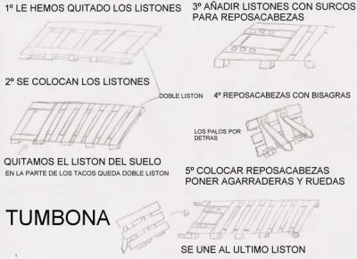 Come fare una sedia a sdraio con i pallet, i disegni e le istruzioni 2