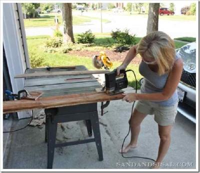 Decora la tua casa con una tavola da surf fatta con i pallet4