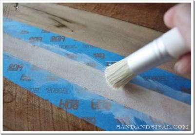 Decora la tua casa con una tavola da surf fatta con i pallet7