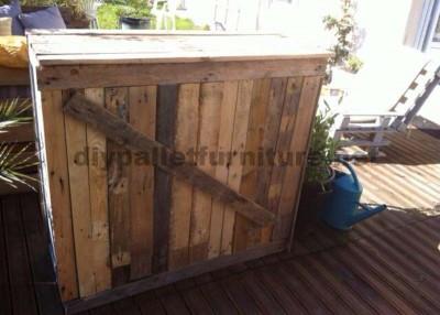 Garden Lounge realizzato con pallet 5