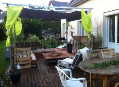Garden Lounge realizzato con pallet 6