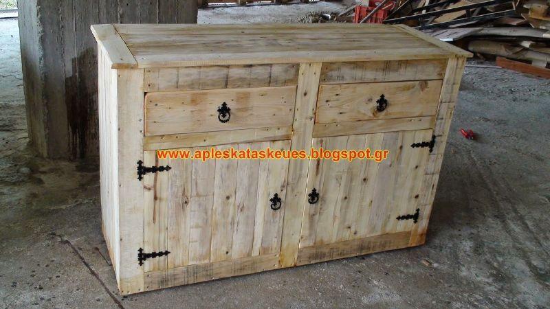 Guida passo passo per costruire una cassettiera con pallet - Costruire mobili in legno fai da te ...