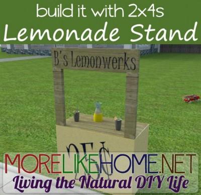 Istruzioni per fare uno stand limonata con i pallet