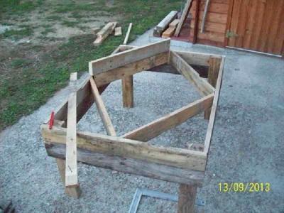 Le istruzioni su come fare una fioriera con forme for Costruire fioriera legno