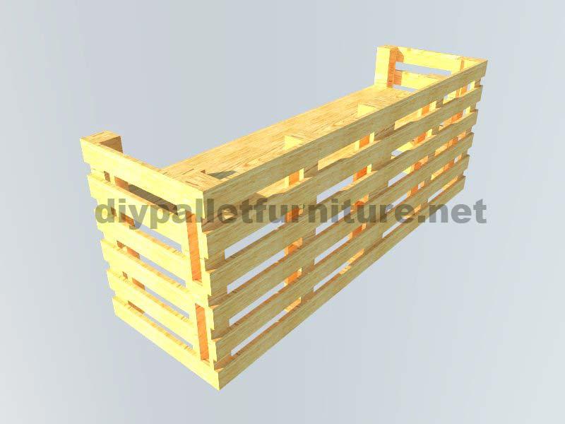 Le istruzioni su come fare una scrivania con palletmobili - Construire un bar en palette ...