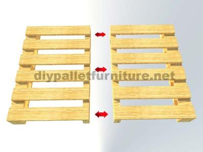 Le istruzioni su come fare una scrivania con pallet 4