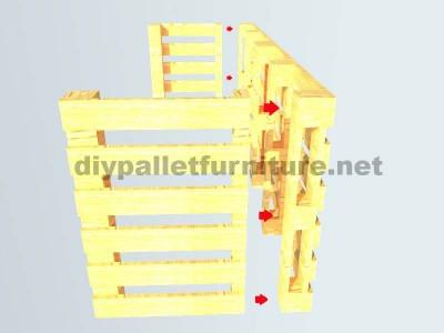 Le istruzioni su come fare una scrivania con pallet 7