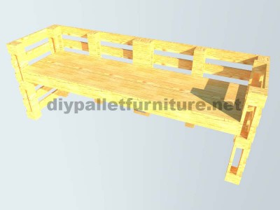 Le istruzioni su come fare una scrivania con pallet 9