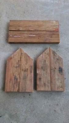 Passaggi e le istruzioni su come costruire una cassetta postale realizzata con pallet5