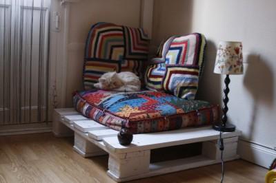 Piccolo angolo dove ottenere rilassato o per il vostro animale domestico con una paletta ! 1