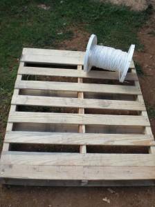 Come fare un amaca con i pallet guida passo passo 1