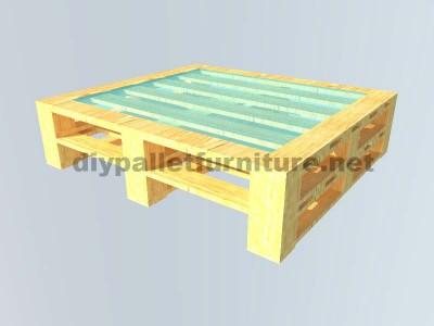 Le istruzioni su come fare un elegante tavolo con pallet 5