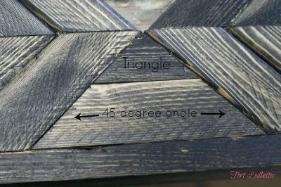 Passi e le istruzioni su come costruire una tabella pallet 4
