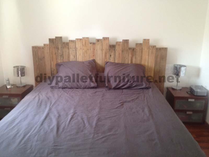 ... fare una testata del letto con i palletMobili con Pallet  Mobili con