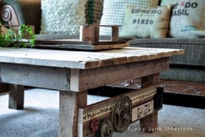 Un tavolo fatto da pallet con un design rurale, passo dopo passo 4