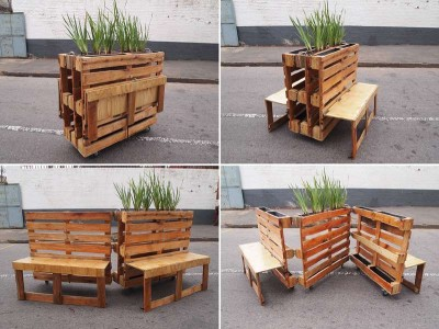Brothers in benches pallet progetto sociale fatto a Johannesburg1